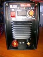 Spawarka Inwerotor 250A LCD+elektrody,kable, maska