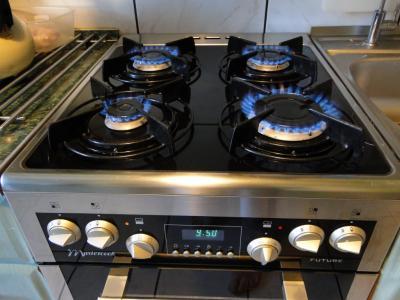 Kuchnia Gazowa Z Elektrycznym Piekarnikiem 50 Cm