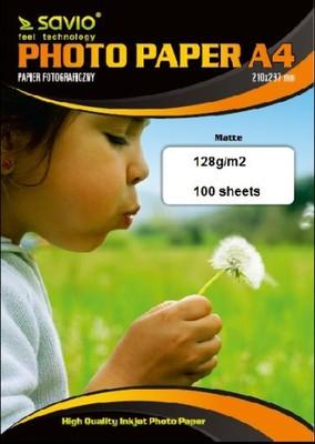 Papier fotograficzny SAVIO PA-11 A4 128/100 MAT
