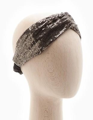 STRADIVARIUS Opaska do włosów z cekinami (OS)