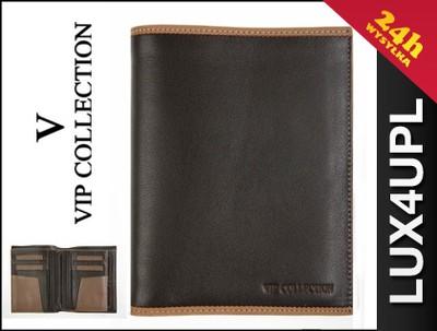 f9e52b99c1da0 VIP COLLECTION Portfel męski ze skóry portfele - 5188988816 ...