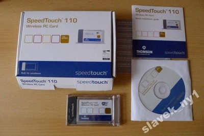driver speedtouch 110 wireless pc card