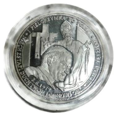 Moneta Jan Pawel Ii I Pielgrzymka Do Polski 6670957480 Oficjalne Archiwum Allegro