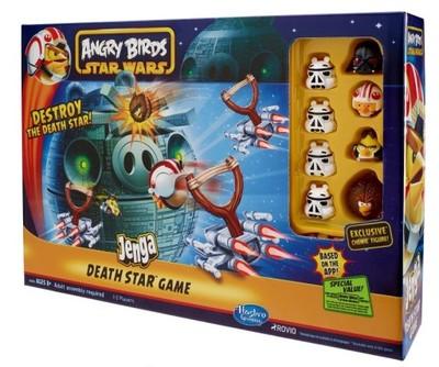 Hasbro Angry Birds Star Wars Jenga Death Star 2845 6646916946 Oficjalne Archiwum Allegro