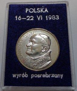 Jan Pawel Ii Polska 1983 Medal Piorku 6483702235 Oficjalne Archiwum Allegro