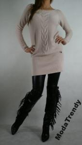 1cc8334a6c SALE Tunika MITIKA sukienka dzianinowy M 449%%% - 5871941978 ...