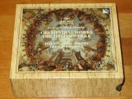 HANDEL Haendel ORCHESTRAL WORKS Pinnock BOX - 6CD