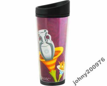 Bidon termiczny EURO 2012 PUCHAR fiolet 65071
