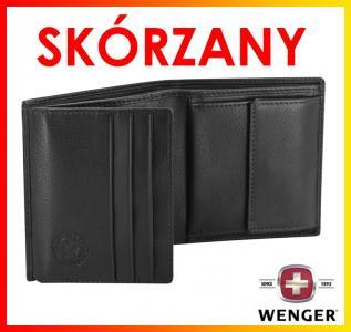 447eb75b3913c PORTFEL męski CZARNY+ PUDEŁKO SwissGear WENGER - 4616371873 ...