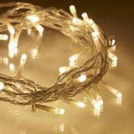 LAMPKI LED 50 SZTUK CIEPŁE BIAŁE NA BATERIE