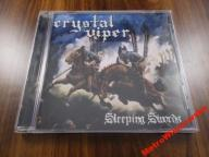 CD - CRYSTAL VIPER - SLEEPING SWORDS !