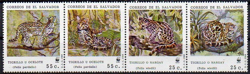 SALWADOR ssaki Mi 1734-7**pasek.