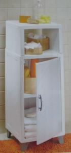 Plastikowa Szafka Półka Do łazienki Allibert 2824439457