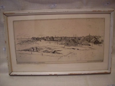 NICOLAJ HAMMER (1887-1970), GRAFIKA, AKWAFORTA