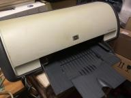 drukarka HP DeskJet D1460 uszkodzona