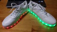 Swiecące buty led
