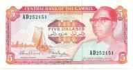 SNMW Gambia 5 dalasis 1987-90 st.+3 ~