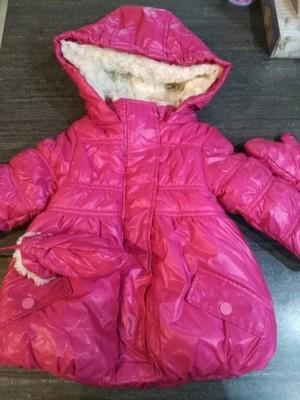 a55f215833dd1 Kurtka zimowa dla dziewczynki Mariquita r. 86 Nowa - 6993990252 ...