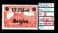 NIEMCY BELGIA 8 ** Ząbki 26-17 1914 r
