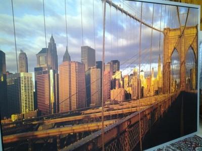 Obraz Ikea Most Brookliński Zachód Słońca 6624911424 Oficjalne