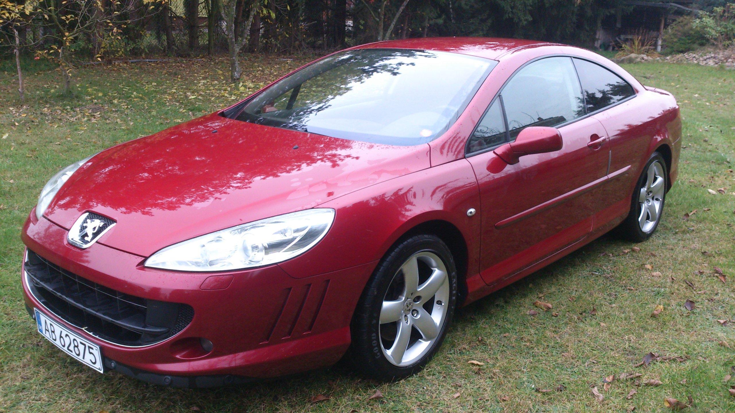 Sprzedam Peugeot 407 Coupe 2 7hdi 7050546499 Oficjalne Archiwum Allegro