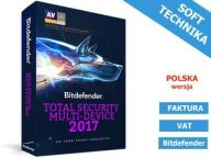 Bitdefender Total Security 10 Stan 1Rok Nowa 2017