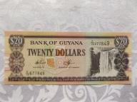 GUJANA 20 DOLLARS 1996 r. St. (UNC)