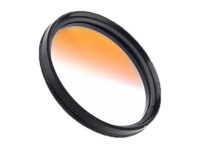 Filtr połówkowy pomarańczowy 72mm DIGIPOD 18-200mm