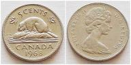 Kanada 5 centów 1968r