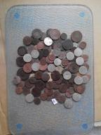 zestaw starych monet oryginały ok 120 szt./srebro/
