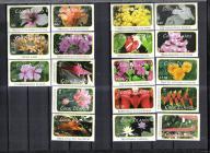 COOK ISL. Kwiat kwiaty do 20$ Mi:1618/35** 105Euro