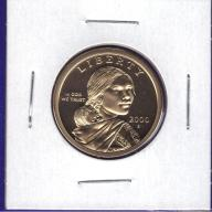 2000-S PROOF Sacagawea Dollar BU
