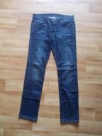 Granatowe męskie jeansy r.L