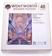 5880-74 ...WENTWORTH... m#d PUZZLE 40 WOODEN
