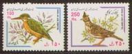 Iran. Mi 2798-99 ** - ptaki