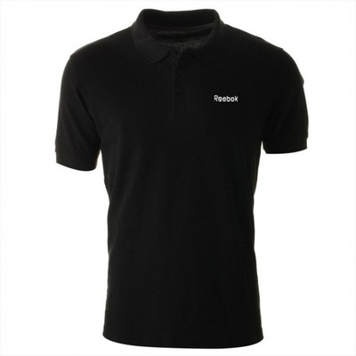Koszulka Reebok Polo męska sportowa do tenisa L