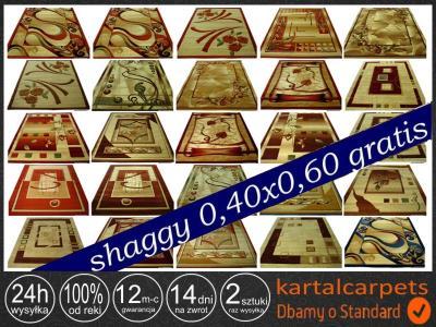 DYWAN 1,9x3,7 WYCINANY WYSYLKA 24H SHAGGY GRATIS