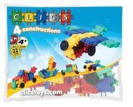 Clics 4 constructions woreczek 22 klocki