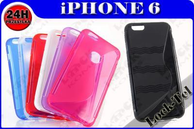 ETUI SILIKON GUMA S-LINE iPHONE 6 6G 6S 4,7 +FOLIA - 5045675419 ... 4fe522b841d
