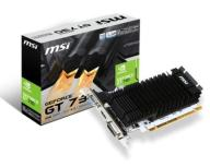 MSI GeForce GT730 2GB DDR3 64BIT DVI HDMI VGA BOX