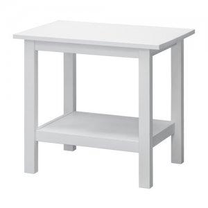 Ikea Hemnes Stolik Drewniany Kawowy Biały