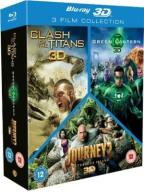 Clash of the Titans/Green Lantern/Journey 2 Triple