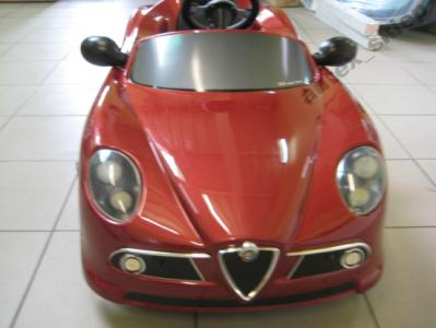 Pojazd Samochod Na Pedaly Alfa Romeo 8c 3092697270 Oficjalne Archiwum Allegro