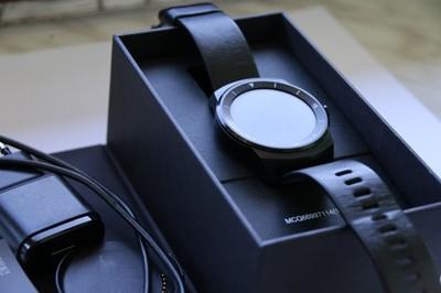 Smartwatch LG G Watch R W110 - okrągła koperta