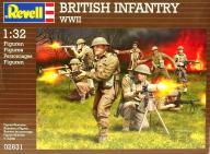 Model do sklejania REVELL Figurki brytyjskich żołn