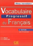 Vocabulaire Progressif du Francais Niveau intermed