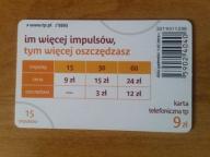 karta chipowa 192 D 1.07.2010