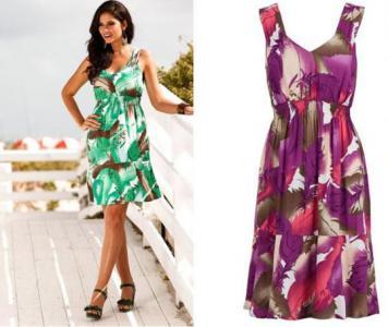 Śliczna letnia sukienka BODYFLIRT!!! R - 40/42
