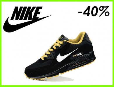release date: 58bd2 dcd02 BUTY MĘSKIE NIKE AIR MAX 90 CZARNE r.40-46 TANIO (6057153664)