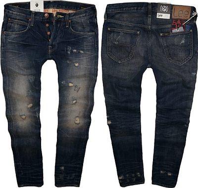spodnie LEE DAREN slim vintage rozdarcia W30 L32
